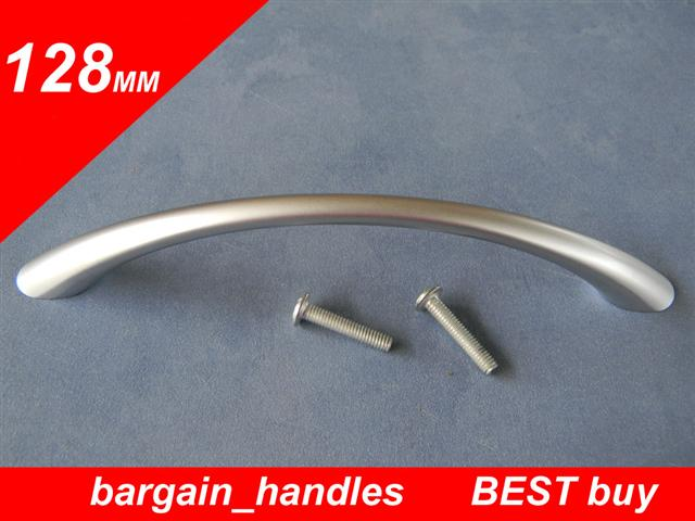 128mm Classic Bow Handles Satin Chrome