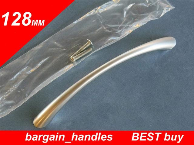 [128mm Classic Bow Handles (Satin Chrome Finish)]