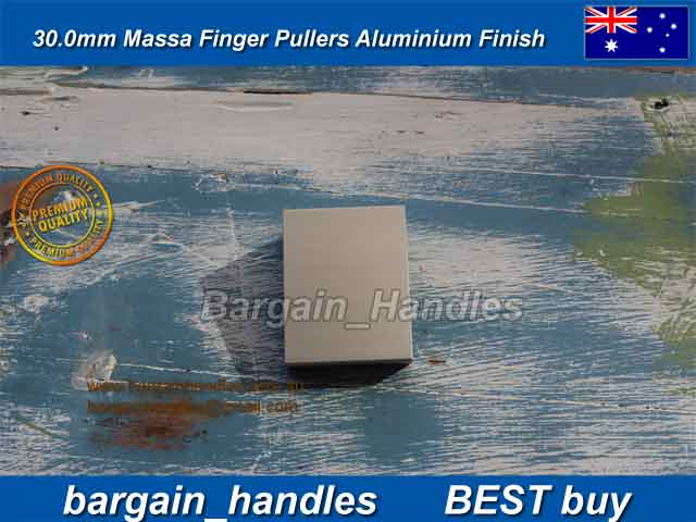 [30mm Mass Finger Pullers ALUMINIUM Finish]