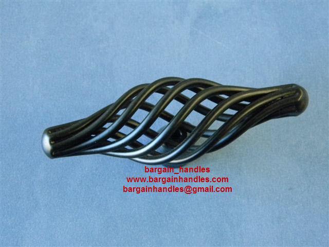 85mm Black  Cage Knob / Handle