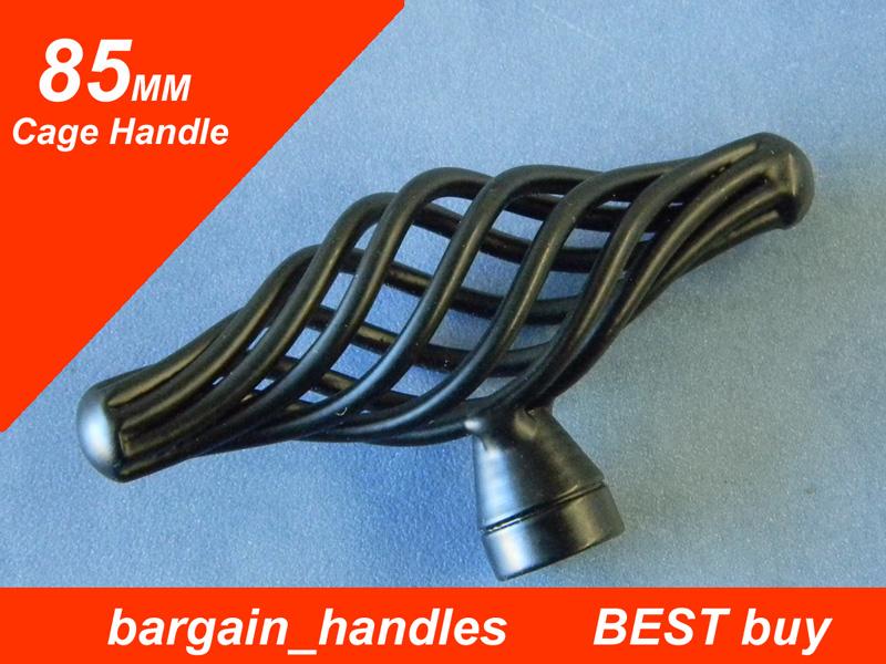 Black 85mm Cage Handle/Knob