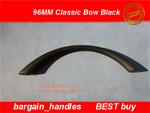 Classic matt black Bow Black