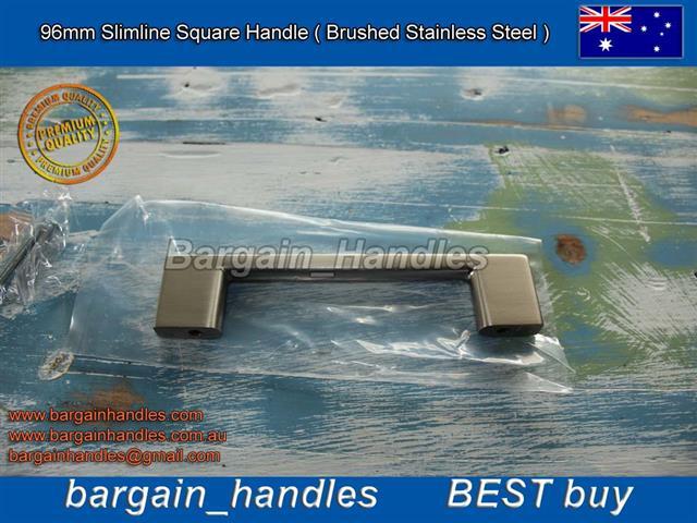 [96mm Slimline Square Handle ]