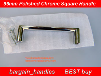 Chrome Square Handle/ D-Square