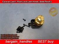 Push Lock Door Latch (Gold)