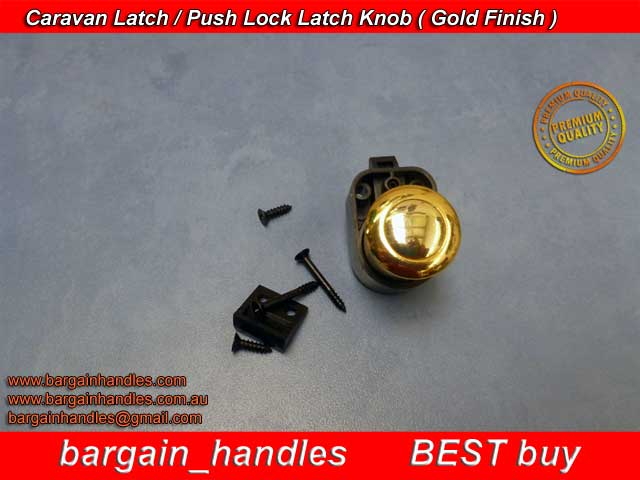 [Armstrong Push Knob With Latch 5100Z.GD (Gold)]