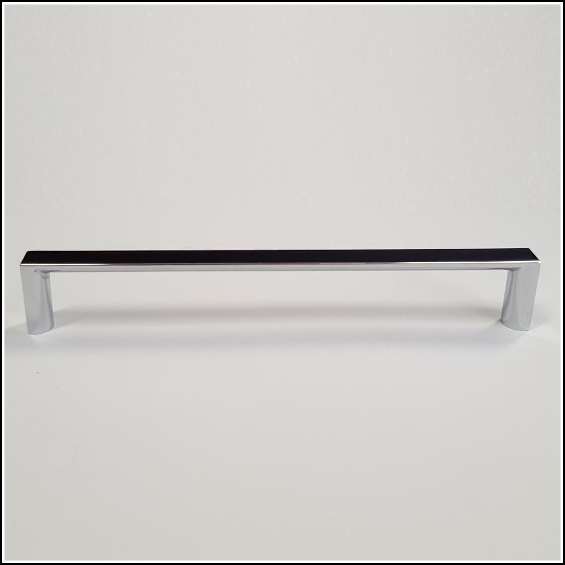 Polished Chrome D-Square Handle Pulls