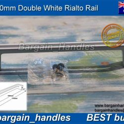 white Double RIALTO Rail
