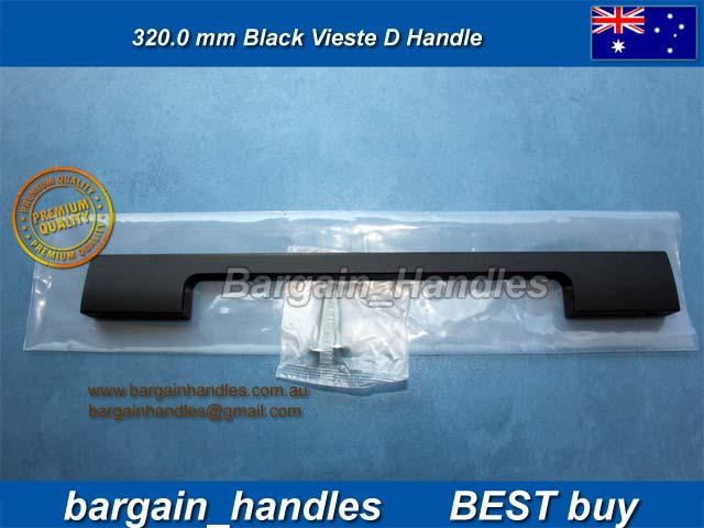320mm Moritz D Handle Matt Black