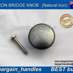 32 mm Iron Bridge Collection Knob (Solid Cast Iron)