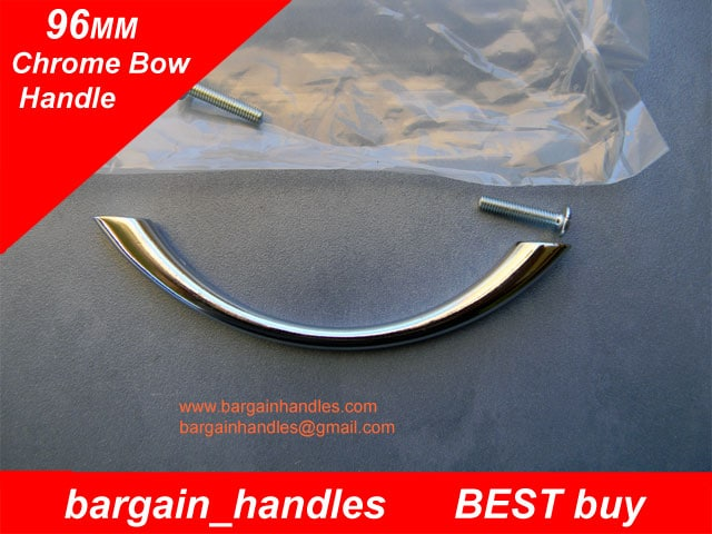 96mm Traditional/Classic Bow With a Chrome Plated Finish