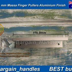 MOMO MASSA LIP PULL HANDLE - ALUMINIUM