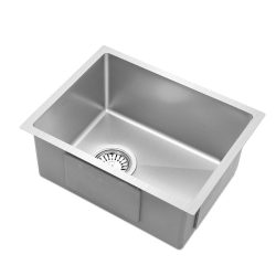 Cefito 340x440mm Stainless Steel Kitchen Laundry Sink Single Bowl Nano Silver